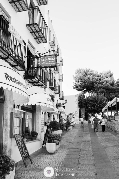 in den Straßen von Spanien